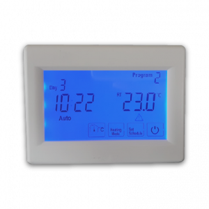 Horizontal Touch Thermostat